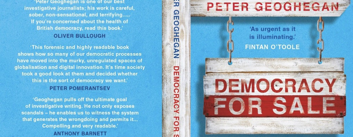 Democracy for Sale book cover